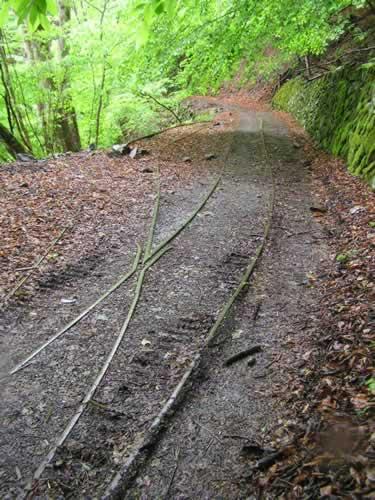 輪鉄跡線路
