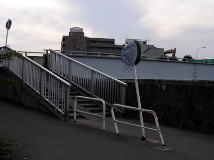 多摩川サイクリングロードの橋